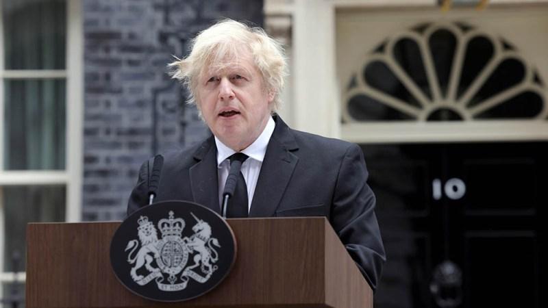 """Johnson: """"El hecho de que nos unamos hoy demuestra el fracaso del terrorismo y la fuerza de los lazos entre nosotros""""."""