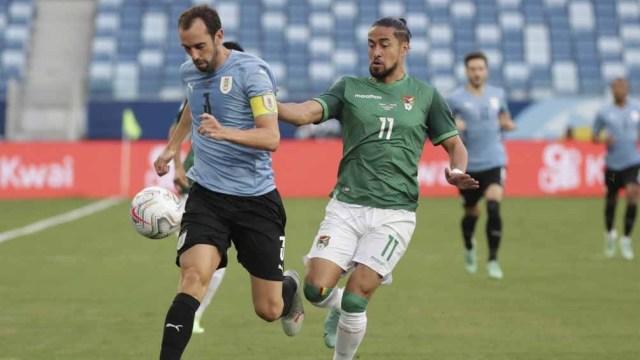 Uruguay venció a Bolivia y selló su pase a cuartos, ahora quiere eludir a Brasil en cuartos (Foto: @CopaAmerica)