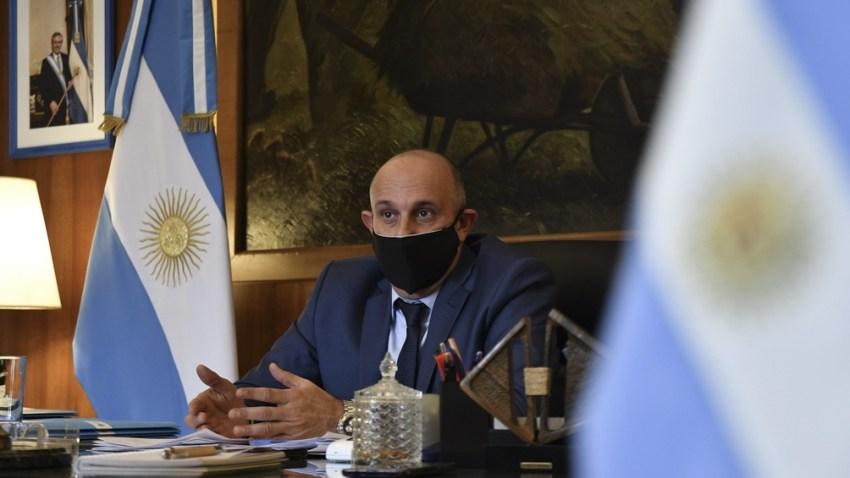 El l ministro Axel Guerrera confirmó que se licitará el sostenimento de la hidrovía.