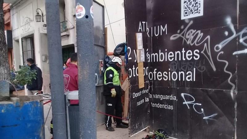 La obra se encuentra situada entre las avenidas Coronel Niceto Vega y Dorrego.