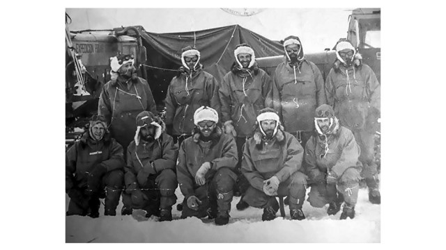 Foto de la expedición.