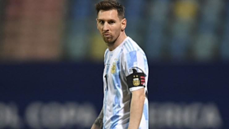 Messi, la carta de gol de Argentina, en un duelo de ida y vuelta ante Ecuador (foto: @CopaAmerica)