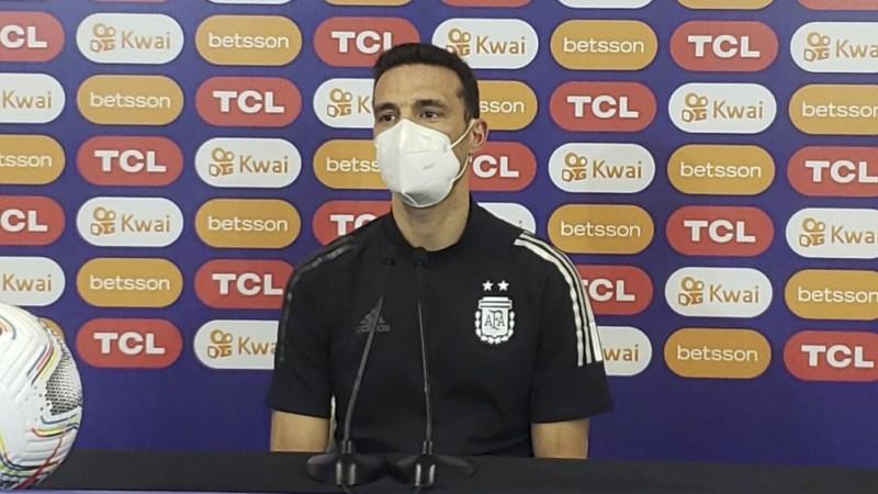 Lionel Scaloni el DT del seleccionado argentino (foto archivo).