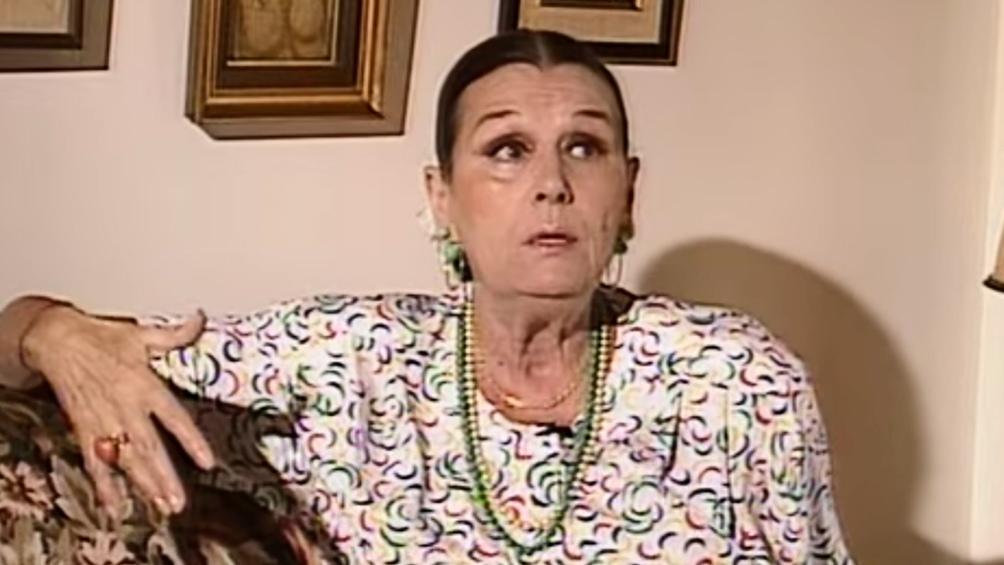 Ana María Campoy fue una figura esencial en el tetaro y la televisión.