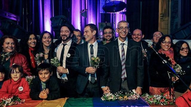 La ley de matrimonio igualitario convirtió a la Argentina en el primer país de América Latina en reconocer ese derecho.
