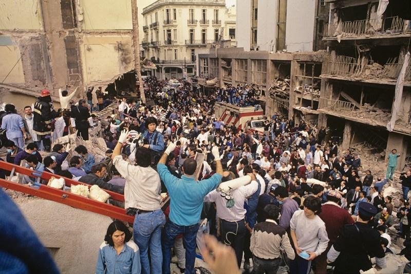 El 18 de julio se cumplen 27 años del atentado a la AMIA. (foto Julio Menajovsky)