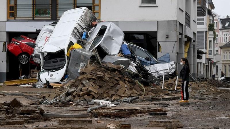 Al menos 103 personas murieron en Alemania. Foto: AFP