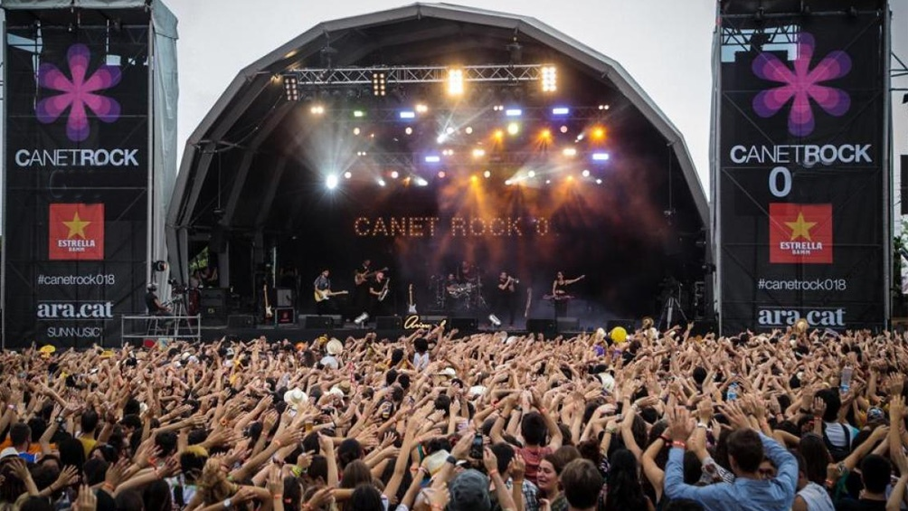 Los festivales Vida, Canet Rock y Cruilla, se realizaron en las dos primeras semanas de julio en Cataluña.