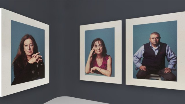 Los retratos fueron realizados por la fotógrafa Alejandra López, con la curaduría de Elio Kapszuk, y pueden verse en http://esedia.amia.org.ar/.