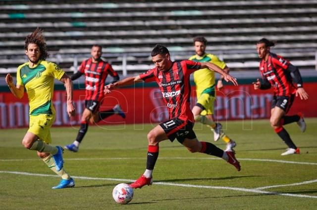 Aldosivi cargó con el peso ofensivo pero Patronato fue efectivo. (Foto: Diego Izquierdo)