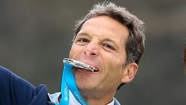 Larocca en los Panamericanos de 2019.