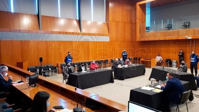 El detenido Alberto Enrique Osuna informó que tiene coronavirus durante la audiencia.
