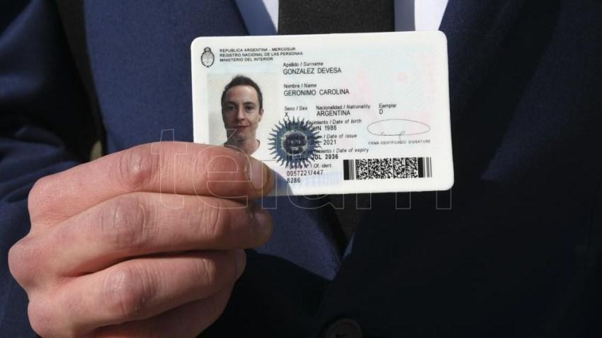 Se deberán adaptar las nomenclaturas de los DNI y los pasaportes. Foto: Pablo Añeli