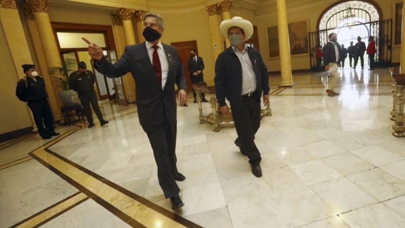 En una semana, Castillo asumirá la presidencia