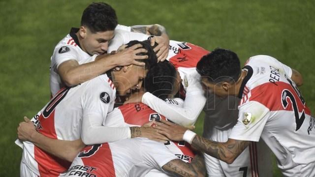 River quedó como único representante argentino en la Copa Libertadores gracias a su victoria por 2-0 ante Argentinos Juniors