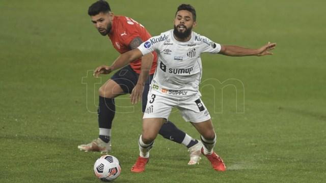 Independiente no pudo dar vuelta la serie ante Santos (Foto: Julián Álvarez).