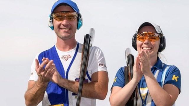 Los hermanos Gil afuera d ela lucha por medallas en Tokio 2020 (Foto: @PrensaCOA)