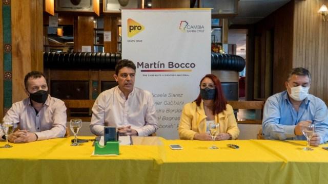 """conferencia de prensa del PRO con la lista """"Futuro""""."""