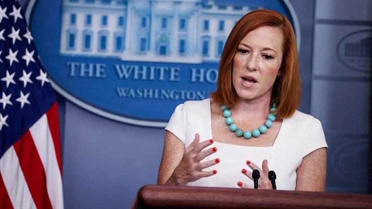 """""""Vamos a mantener las restricciones existentes"""", afirmó la vocera de la Casa Blanca"""