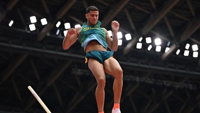 Braz, el mejor sudamericano de la prueba, la cual lo tiene como finalista en Tokio 2020 (Foto: AFP)