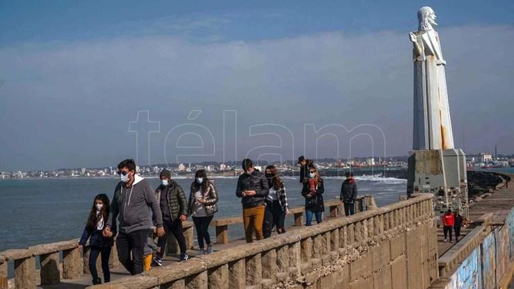 4 millones de personas viajaron por el país durante las vacaciones. Foto: Diego Izquierdo.