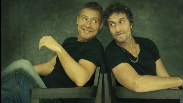 Adrián Suar y Diego Peretti, de estreno en El Nacional