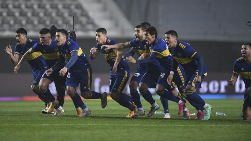 Boca, que todavía no ganó en el torneo, visitará el domingo desde las 18 a Estudiantes de La Plata por la sexta fecha de la Liga Profesional. Foto: Fernando Gens.