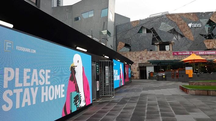 Más de 10 millones de personas en Melbourne y Sydney están confinadas actualmente.