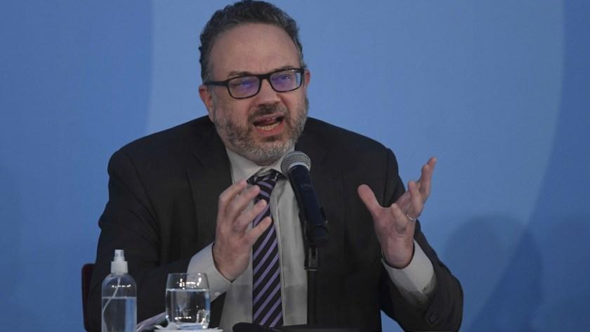 """La Argentina está """"en el camino"""" de lograr la """"recuperación de los ingresos reales"""", señaló Matías Kulfas."""