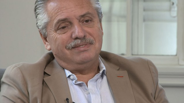 Alberto Fernández, uno de los entrevistados.