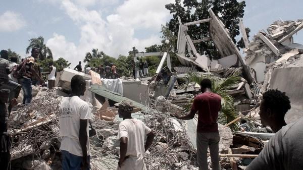 El terremoto se produjo el sábado pasado a unos 160 kilómetros al oeste de la capital