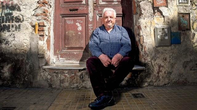 """Blaustein era conductor del programa radial """"Manivela"""", en Radio Nacional."""