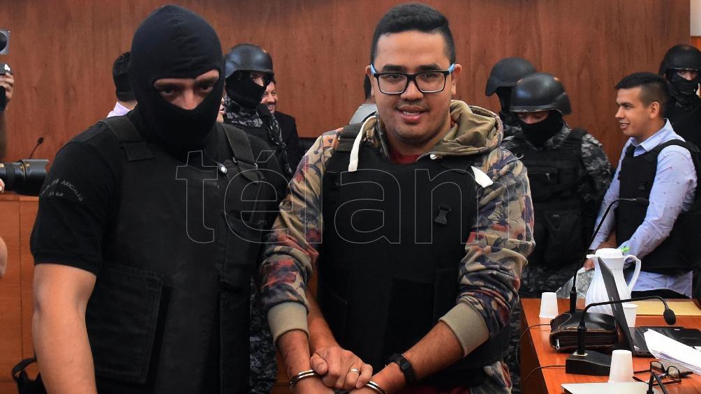 """El líder de la banda, Ariel """"Guille"""" Cantero, también ezs juzgado por una docena de atentados. Foto: Sebastián Granata"""