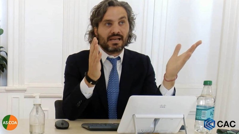 """Cafiero señaló que """"el sistema de salud en la Argentina no colapsó por la fuerte inversión récord del año pasado"""""""