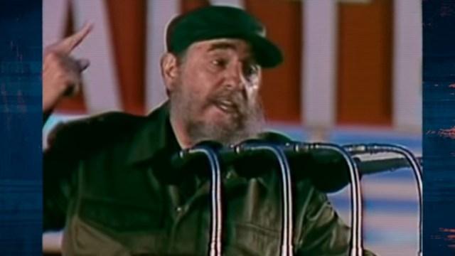 Fidel Castro, clave en la ayuda a los chicos afectados por el siniestro.