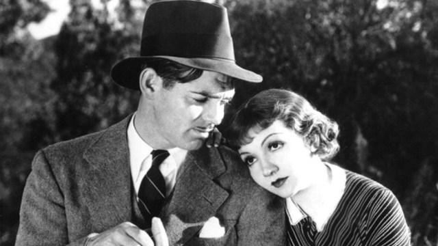 """""""Lo que sucedió aquella noche"""", con Clark Gable y Claudette Colbert"""