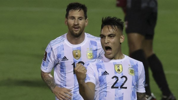 Argentina espera a Brasil, el domingo,tras la victoria frente a Venezuela. (Foto: AFP).