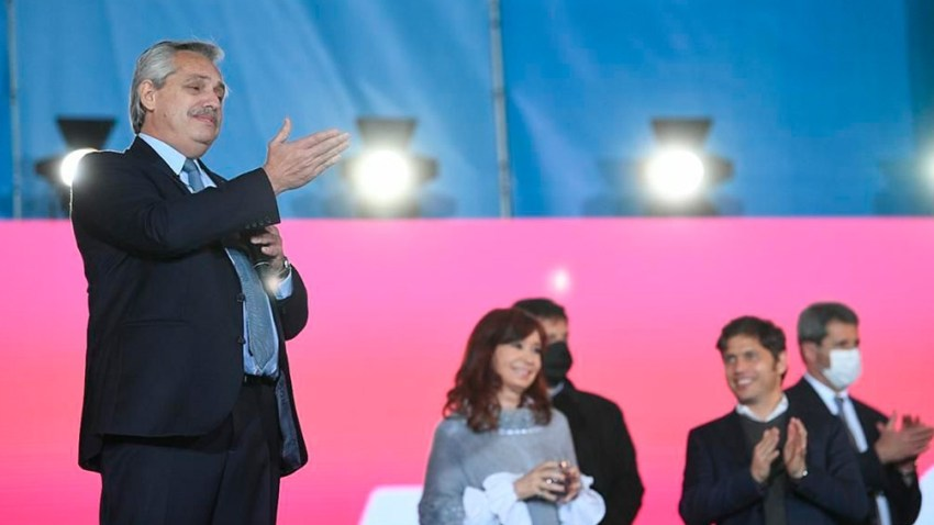 """Alberto Fernández: """"Con este Gobierno no tenemos más espías al servicio de los jueces"""". Foto: Presidencia."""