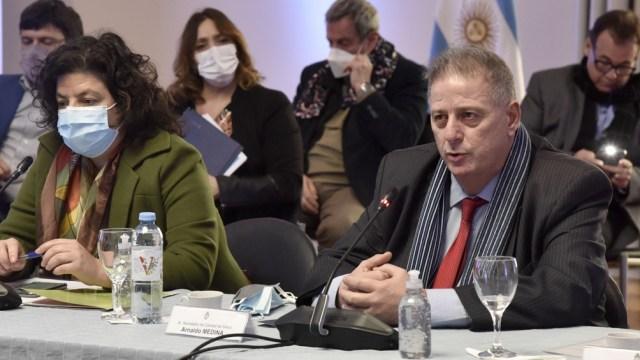"""Collia: """"El suicidio es una problemática de salud pública mundial y de la Argentina, prevenible y multicausal"""". Foto: Prensa Ministerio"""