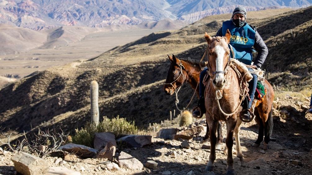 El operativo incluye un recorrido de 12 horas en mula para llegar al local de comicios más remoto del país, ubicado en el paraje El Durazno en la provincia de Jujuy.