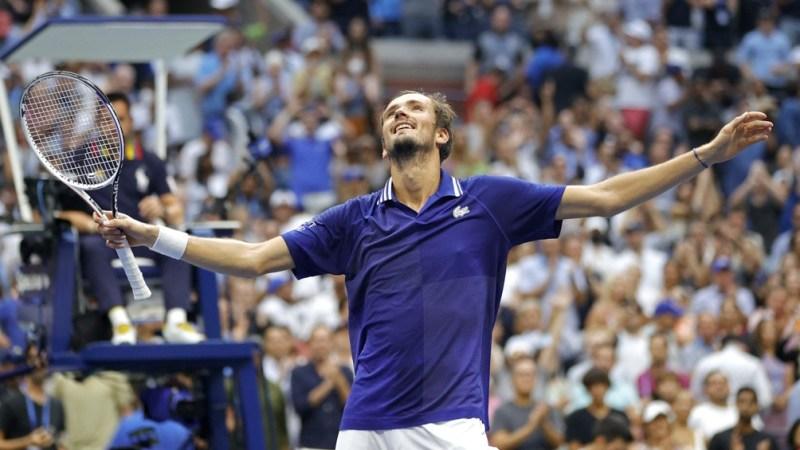 Medvedev escribió su apellido en la historia de los campeones del Us Open (Foto: AFP).