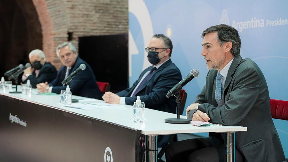 """La política de Compre Argentino puede generar """"200 mil puestos de trabajo en diez años"""", dijo Tamborenea."""