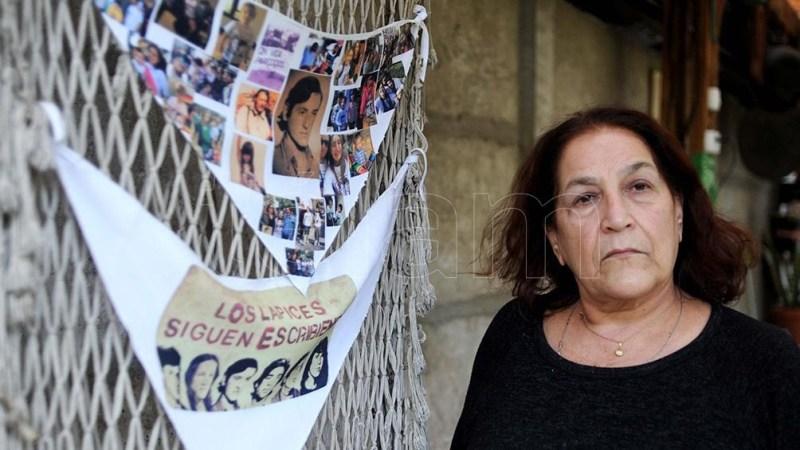 Marta Ungaro, hermana del estudiante desaparecido Horacio Ungaro. Foto: Eva Cabrera