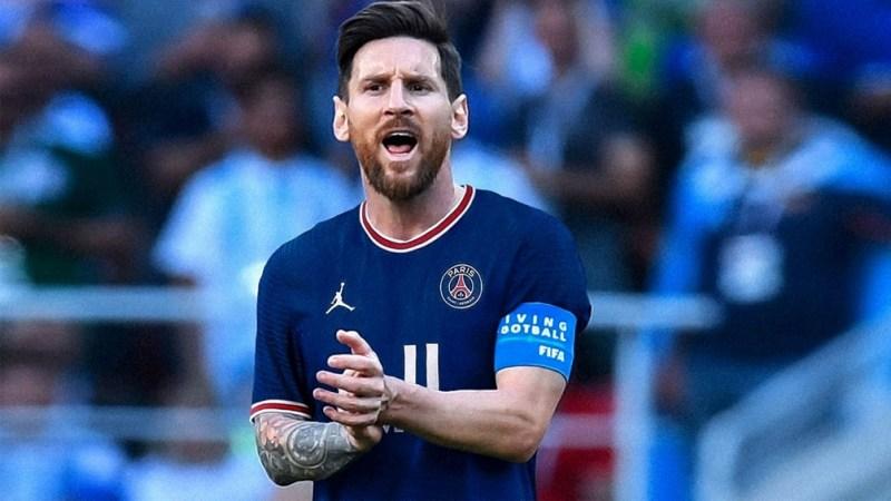 Messi estará en el PSG ante Brujas (Foto AFP).