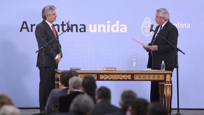 Filmus, nuevamente como ministro de la Nación. Foto: Julián Álvarez.