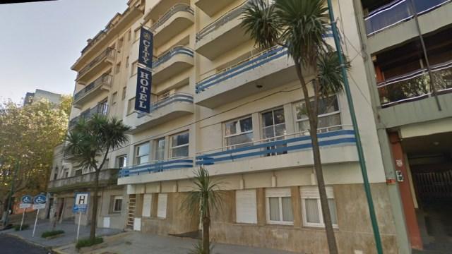 Desde este hotel operaba la organización (Google Street View).