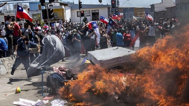 Ambas delegaciones repudiaron los ataques a venezolanos en Chile.