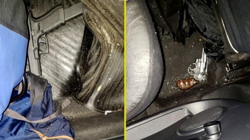 El vehículo tenía una orden de secuestro activo por robo.