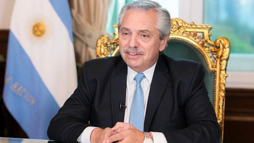 Alberto Fernández dará el discurso de cierre en La Rural. Foto Presidencia.