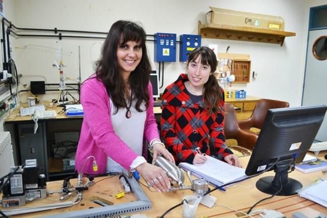 La doctora en Ingeniería Química Fabiana Dennari, investigadora del Conicet y docente en el Instituto Balseiro.